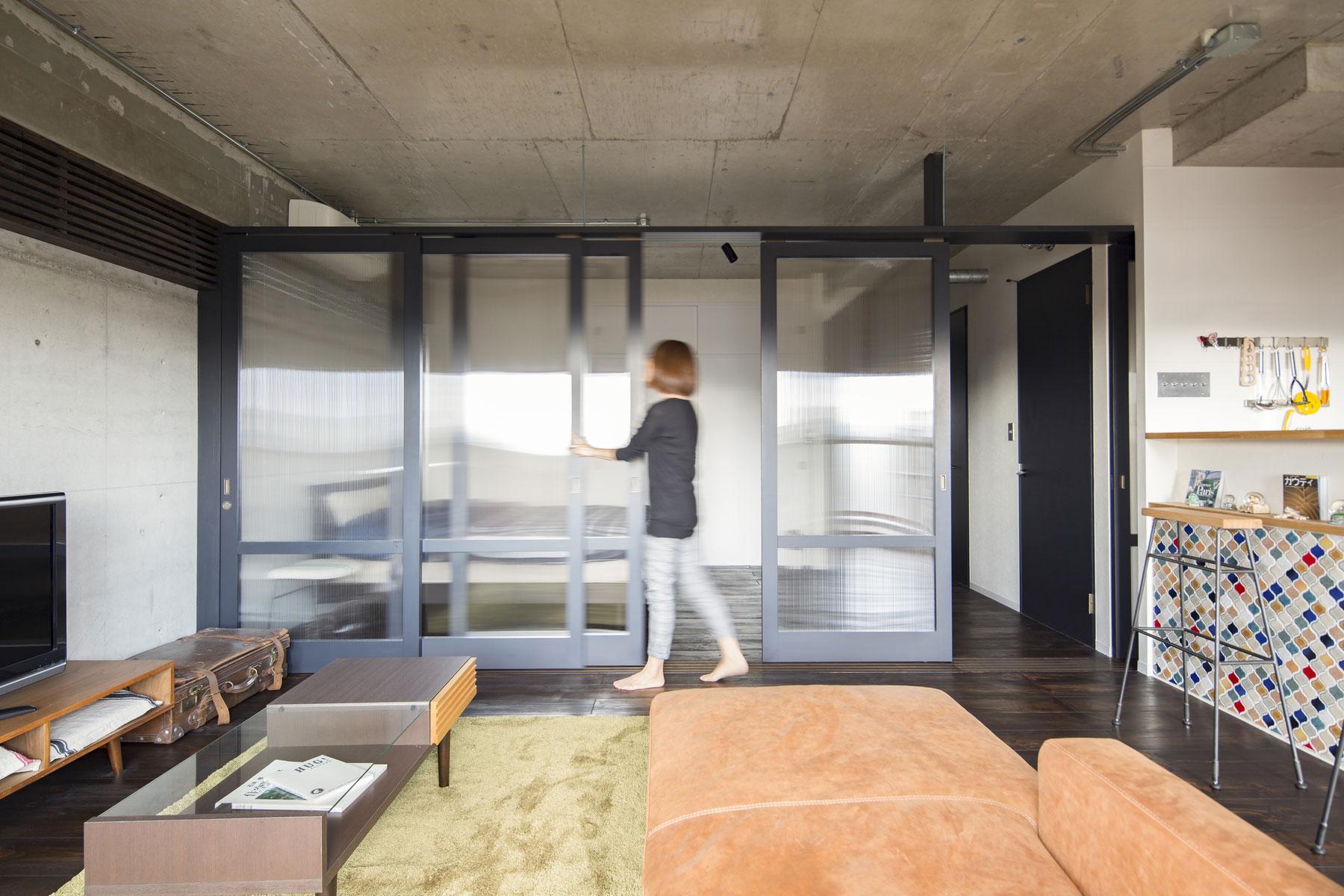 着替える家|気分によって簡単に間取りを替えられるマンションリノベーション