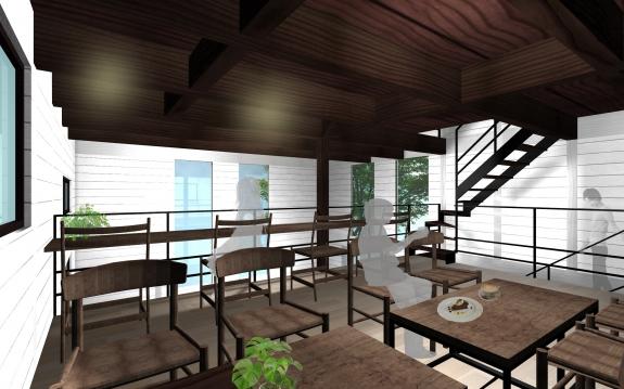 五條のカフェ・ケーキ店・設計事務所・建築家・奈良県・大阪