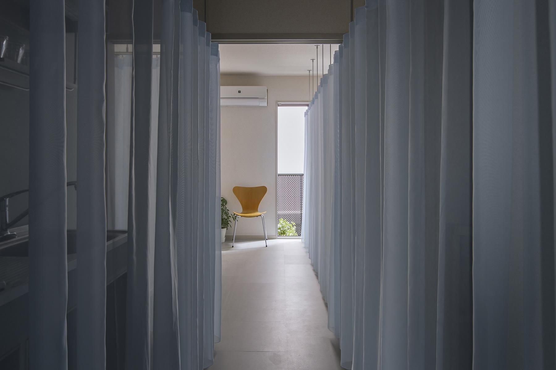 Dias201 | カーテンで軽やかに住む賃貸マンションリノベーション
